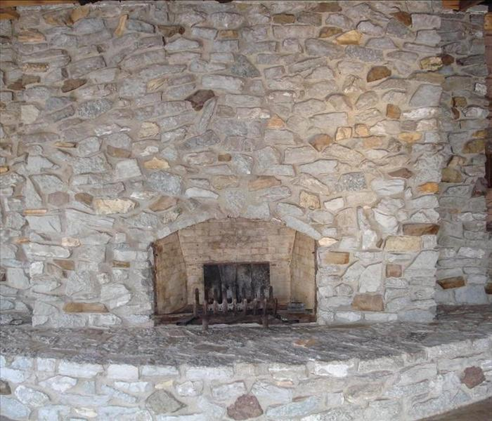 Limestone Mantle - After